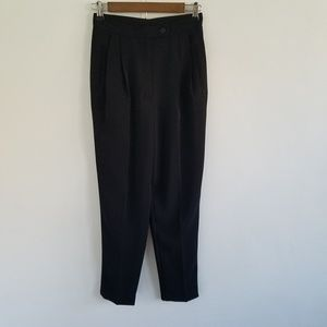 David Bijoux  High Rise Pleated Skinny Pants 4